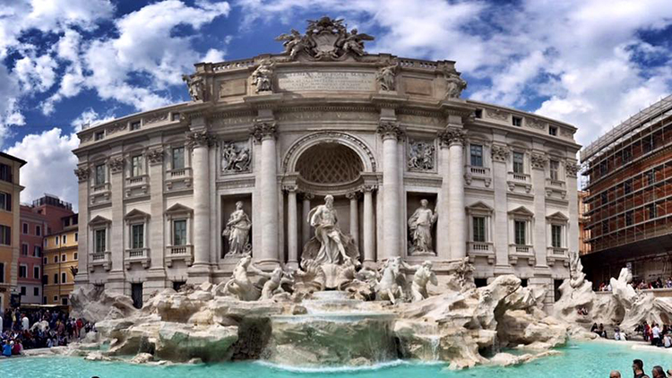 نافورة تريفي Trevi Fountain